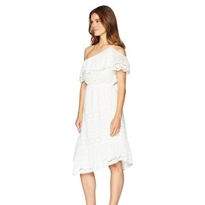 NEW Joie White Corynn Off-the- Shoulder Dress (XS)